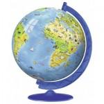 Ravensburger-12341 3D Puzzle - Globe in Spanisch