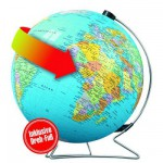Ravensburger-12426 540 Teile Puzzleball - Globus