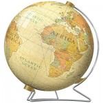 Ravensburger-12434 Puzzle-Ball - Vintage Globus