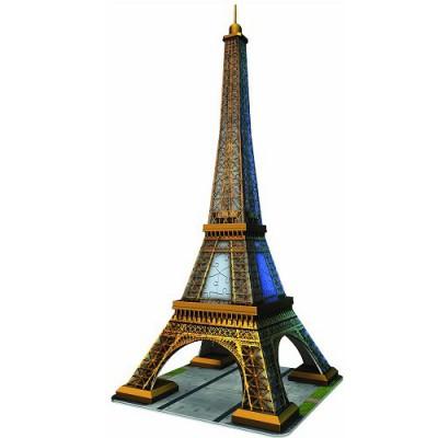 Puzzle Ravensburger-12556 Eiffelturm