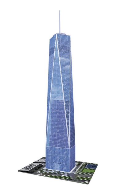 Ravensburger-12562 3D Puzzle - One World Trade Center