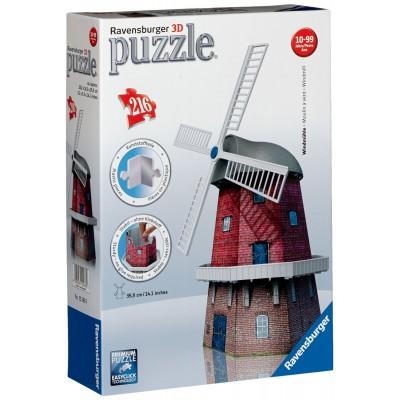 Ravensburger-12563 3D Puzzle - Windmühle