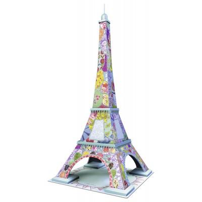 Ravensburger-12567 3D Puzzle - Tula Moon Eiffelturm