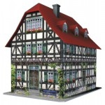 Puzzle  Ravensburger-12572 Fachwerkhaus