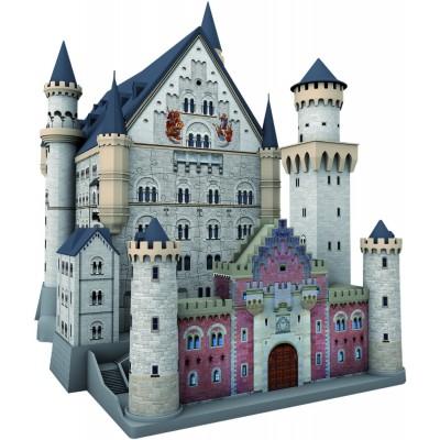 Ravensburger-12573 3D Puzzle-Bauwerke - Schloss Neuschwanstein