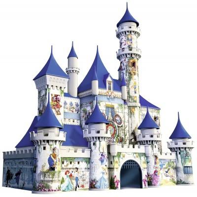 Ravensburger-12587 3D Puzzle - Disney Schloss
