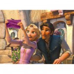 Puzzle  Ravensburger-12614 Disney Prinzessinnen: Rapunzel auf dem Fest der Lichter