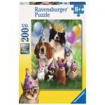 Puzzle  Ravensburger-12643 Das Fest der Tiere