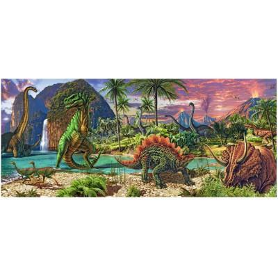 Puzzle Ravensburger-12747 Im Land der Dinosaurier