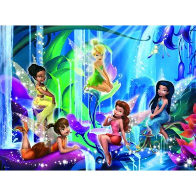 Puzzle Ravensburger-12777 Disney Fairies: Im Land der Feen
