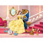Ravensburger-12779 Puzzle 200 Teile XXL - Disney's Beauty and the beast
