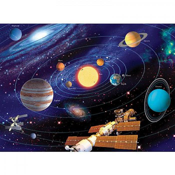 Puzzle 200 Teile XXL - Das Sonnensystem