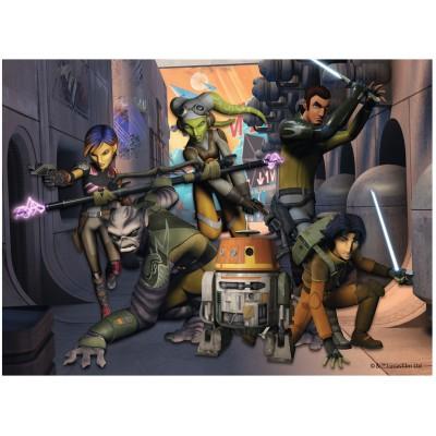 Puzzle Ravensburger-12809 Star Wars: Die Rebellion beginnt