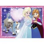 Puzzle  Ravensburger-12826 XXL Teile - Frozen - Die Eiskönigin