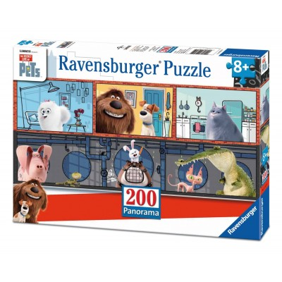 Puzzle Ravensburger-12834 The Secret Life of Pets