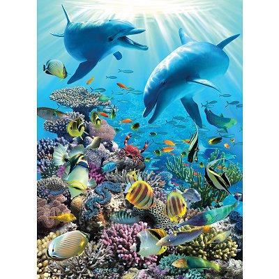 Puzzle Ravensburger-13022 Unterwasser-Abenteuer