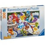 Puzzle  Ravensburger-13096 Gelini: Geburtstagsparty