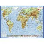Puzzle  Ravensburger-13097 Politische Weltkarte