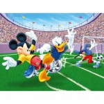 Puzzle  Ravensburger-13125 Disney: Fussball