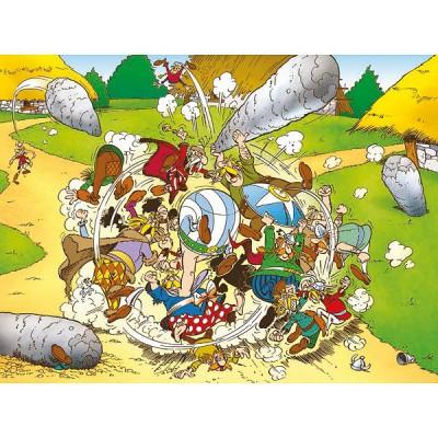 Puzzle Ravensburger-13130 Asterix und Obelix: Die große Prügelei