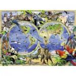 Puzzle  Ravensburger-13173 Wildes Leben