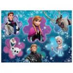 Puzzle  Ravensburger-13180 Disney Frozen, Die Eiskönigin