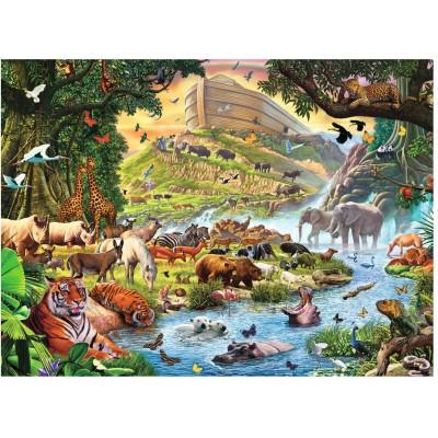 Puzzle Ravensburger-13185 Die Tiere der Arche Noah