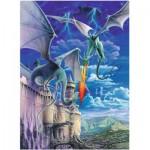 Puzzle  Ravensburger-13193 XXL Teile - Drachen