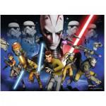 Puzzle  Ravensburger-13195 Star Wars: Kampf um das Imperium