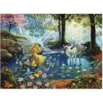 Puzzle  Ravensburger-13206 XXL Teile - Mystical Meeting