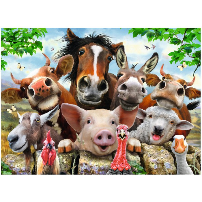 XXL Teile - Farmyard Selfies!