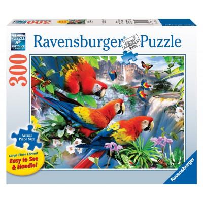 Puzzle Ravensburger-13534 XXL Teile - Trooenvögel
