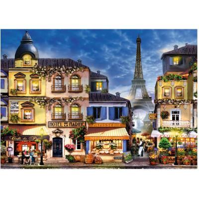 Puzzle Ravensburger-13560 XXL Teile - Bezauberndes Paris