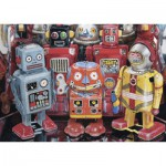Puzzle  Ravensburger-13570 XXL Teile - Roboter