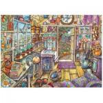 Puzzle  Ravensburger-13574 XXL Teile - Gemütlicher Geräteschuppen