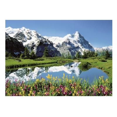 Puzzle Ravensburger-13601 Berner Oberland, Schweiz