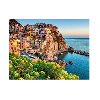 Puzzle Ravensburger-13602 Buntes Italien