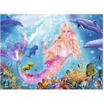 Puzzle  Ravensburger-13642 Glitzernde Unterwasserwelt