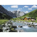 Puzzle  Ravensburger-13655 XXL Teile - Karwendel-Gebirge