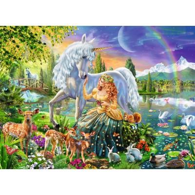 Puzzle Ravensburger-13673 Star Line - Magische Begegnung