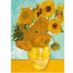 Puzzle  Ravensburger-14006 Van Gogh: Sonnenblumen
