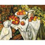 Puzzle  Ravensburger-14021 Cezanne: Äpfel und Orangen