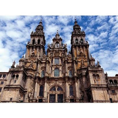 Puzzle Ravensburger-14046 Santiago de Compostela