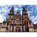 Puzzle  Ravensburger-14046 Santiago de Compostela, Spanien