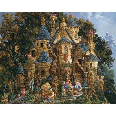 Puzzle Ravensburger-14112 Christensen: Zauberschloss
