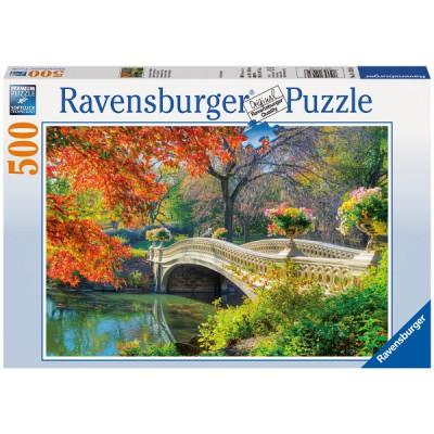 Puzzle Ravensburger-14231 Romantische Brücke