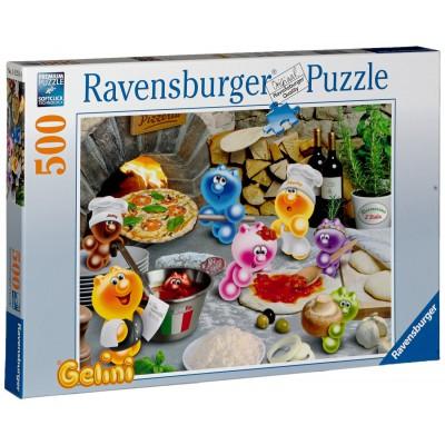 Puzzle Ravensburger-14251 Gelini: Pizza