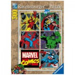 Puzzle  Ravensburger-14339 Abenteuer der Avenger