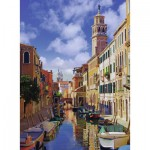 Puzzle  Ravensburger-14488 In Venedig