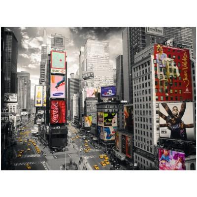Puzzle Ravensburger-14504 Blick auf den Times Square